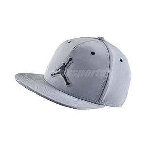 Nike 帽子 Jordan 5 Retro Snapback 銀 黑 反光 喬丹 棒球帽 男女款 【PUMP306】 801773-096 801773-096