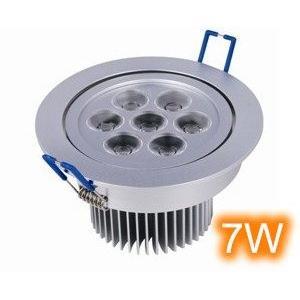 LED崁燈 專賣店每入690 天花燈7*1W 圓形天花燈LED天花板燈 7W LED節能燈體