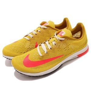 Nike 競速跑鞋 Air Zoom Streak LT 4 黃 粉紅 低筒 男鞋 女鞋 【PUMP306】 924514-706