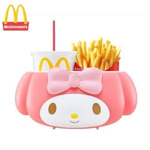 日本限定 麥當勞 美樂蒂 2way 置物盒 ( 手提 或 汽車用 )