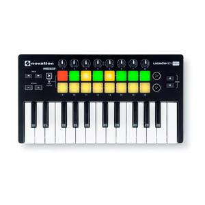 【金聲樂器】Novation Launchkey Mini MKII MIDI 鍵盤 25 鍵 MIDI 鍵盤