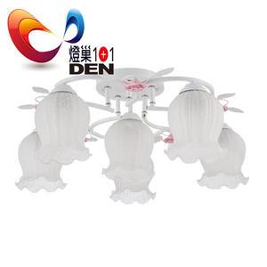 維多利亞環形玫瑰5+1燈半吸頂燈【  燈巢1+1 】 燈具。Led居家照明。桌立燈。 工廠直營批發 03095783