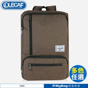 LECAF 後背包 14吋電腦包 休閒包 雙肩包 3104 得意時袋