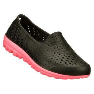 【零碼US13】SKECHERS (童) H2GO Waterlillys 雨天良伴 女童 水鞋 洞洞鞋- 86622LBKHP 黑x粉紅