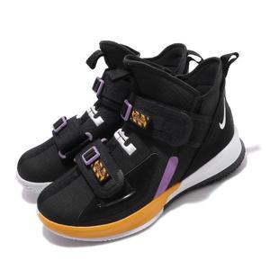 Nike 籃球鞋 LeBron Soldier XIII SFG EP 黑 金 紫 士兵 13代 男鞋 【PUMP306】 AR4228-004