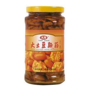 大茂大土豆麵筋(大瓶) 375g