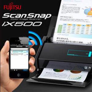 現貨供應!【永昌文具】 隔日配 Fujitsu ScanSnap 新一代 iX500 文件秘書掃描器/ 台