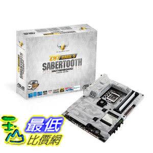 [美國直購 ShopUSA] 主機板 ASUS TUF SABERTOOTH Z97 MARK S LGA1150 DDR3 SATA 6Gb/s USB 3.0 Intel Z97 ATX Motherboard