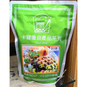 《卡羅 格子Q 鬆餅粉》 1kg/包 餐飲業務用 外酥內軟 --【良鎂咖啡精品館】