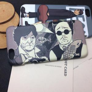 iPhone手機殼 搞怪殼。 搞怪大叔二人組 磨砂硬殼 蘋果iPhone7/iPhone6/iPhone5