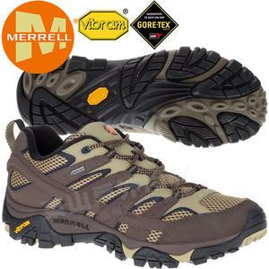 Merrell 12131 男GTX多功能防水登山健行鞋 Moab 2 Gore-Tex 耐走登山鞋/郊山鞋/健走慢跑鞋