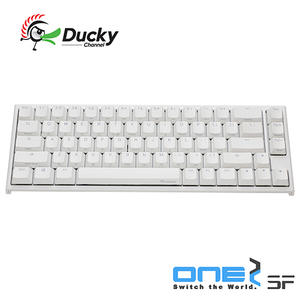 Ducky One2 SF 白色 Cherry MX RGB 機械軸 67鍵 機械式鍵盤 靜音紅軸 銀軸 DKON1967ST