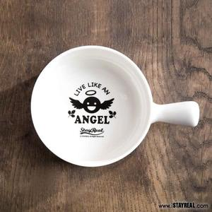 STAYREAL 樂活天使瓷柄碗