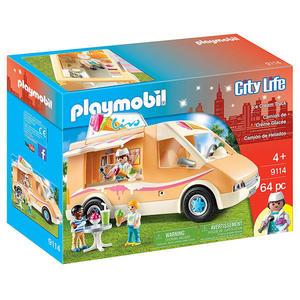 摩比積木 playmobil 冰淇淋車