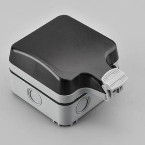 戶外電源插座防水盒明裝防濺盒開關插座保護蓋浴室外防雨密封盒