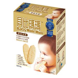 貝比瑪瑪原味米餅【杏一】