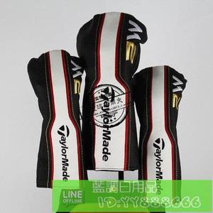 TaylorMade M2 高爾夫木桿套 高檔PU皮 內稱毛絨 135號帽套