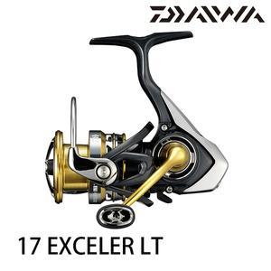 漁拓釣具 DAIWA 17 EXCELER LT 1000D / 2000D / 2500D / 2500D-XH(紡車捲線器)