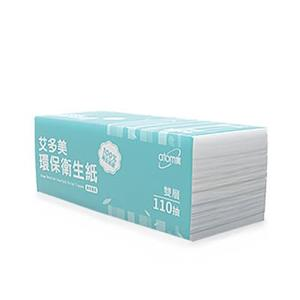 艾多美 環保衛生紙 110抽x24包x3串/箱購  | OS小舖
