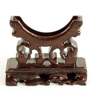紅木首飾架工藝品 實木質手鐲展示座玉鐲展示架裝飾架手鐲托 B款