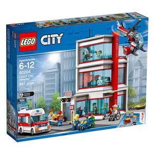 樂高積木LEGO 城市系列 60204 樂高城市醫院