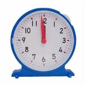 【USL 遊思樂,台灣製】單手操作小時鐘 實驗室 數學 教具 單手 操作 小時鐘 時間