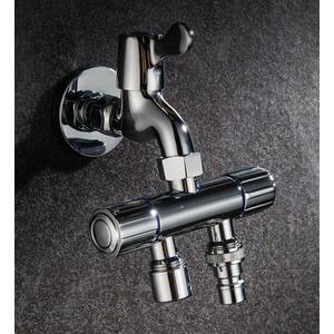 水龍頭 洗衣機一分二多功能分流器一進二出三通雙頭出水兩用轉接頭 - 古梵希