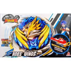 颶風戰魂陀螺系列-戰神之翼(藍色-中盒)(YM634301)←戰鬥陀螺 發射器 陀螺盤 益智