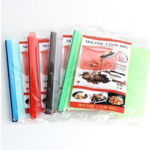 日本KOMEKI.0206.矽膠保鮮袋 白金矽膠食物保鮮密封袋1000ml 廚房水果蔬菜矽膠保鮮袋