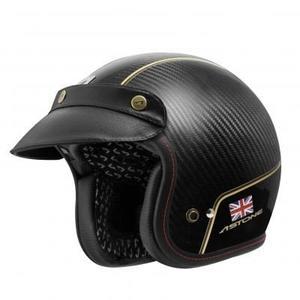 ASTONE安全帽,SPORSTER II 碳纖維安全帽,VV70金(英國)