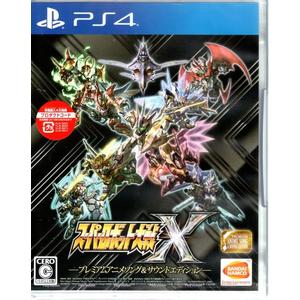 現貨中 PS4遊戲 限定版 超級機器人大戰 X Super Robot Wars X 日文日版【玩樂小熊】