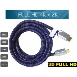 【生活家購物網】HDMI 螢幕線 12米 12公尺 19芯 尼龍編織網 FHD 1080P 影音傳輸線 大電視螢幕專用