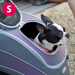 寵物推車外出籠 寵物外出二輪拉桿箱 外出貓籠狗籠 寵物用品 瘋狂爪子【YV6650】快樂生活網