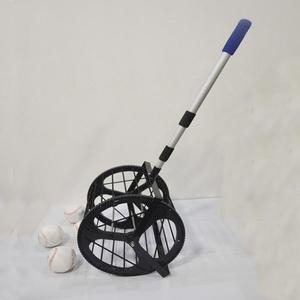 乒乓球棒球壘球網球撿球器拾球器收球器多球自動撿球筐滾動撿球網  ATF 伊衫?尚