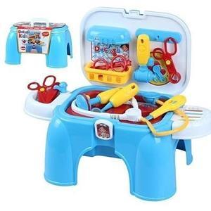 手提醫生組玩具收納椅← 醫護組辦家家酒遊戲椅 收納可當兒童小椅子 益智玩具 角色扮演