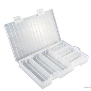 記憶卡收納盒收納盒紐扣內存卡透明出口整理電池盒工具箱