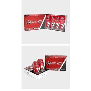 高爾夫球 WILSON綠夢高爾夫三層球比賽練習球12粒團購定制LOGO禮品golf 雙11