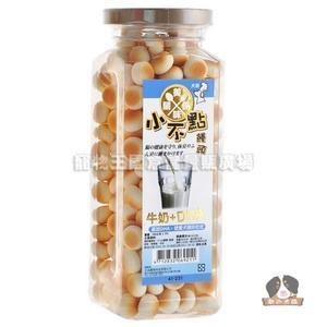 【寵物王國】美味關係小不點饅頭-牛奶+DHA 160g