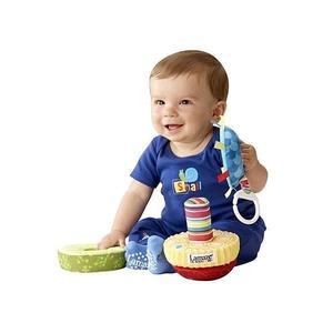 美國《Lamaze 拉梅茲》嬰兒玩具 布書 彌月禮盒←開心串串球(新)_ LC27225