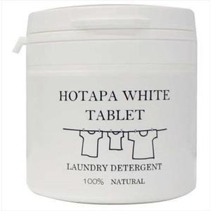 日本製HOTAPA貝殼粉洗衣錠 (現貨) 天然貝殼粉 雙重去污 洗衣錠 40錠  清潔錠  (呼呼熊) 日本代購