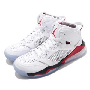 Nike 籃球鞋 Jordan Mars 270 大氣墊 Air 5代概念 白 紅 男鞋 【PUMP306】 CD7070-100