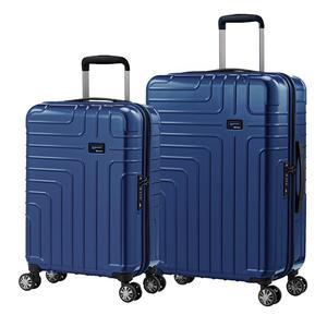 eminent【伊洛絲】極輕絕美鏡面PC行李箱 20+24吋(新品藍) KG93