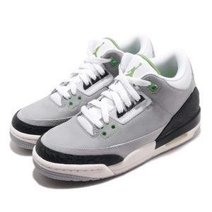 c906254ca Nike Air Jordan 3 Retro BG Tinker Chlorophyll 灰綠爆裂紋AJ3 女鞋大
