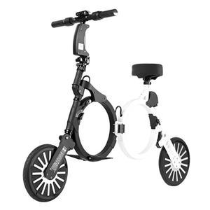電動車科樂威爾 兜納K1 成人鋰電迷妳小型兩輪代步便攜折疊電動車電瓶車 JD一件免運