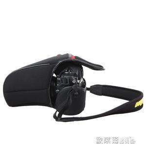 相機保護套 銳瑪單反相機內膽包賓得鏡頭套 攝影三角軟包尼康D750佳能5D3 77D 歐萊爾藝術館