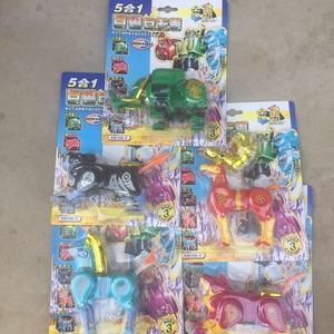 萬代百獸戰隊玩具正義獵手勇士鱷魚王獵鷹王狂牛長頸鹿金雕犀牛王T