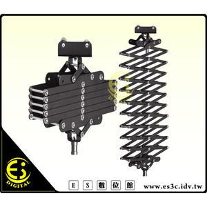 ES數位館 攝影棚 天花路軌 軌道 專用 伸縮儀軌道燈 吊燈 伸縮懸吊儀 彈簧懸臂