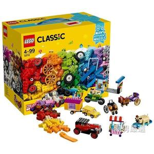 樂高積木樂高經典創意系列10715樂高多輪創意拼砌盒LEGO積木玩具xw