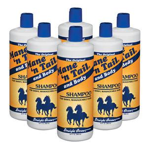 箱購優惠-美國箭牌馬基礎滋養洗髮精32oz*6入贈壓頭乙隻+洗髮精120ml,每瓶單價$240