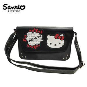 【正版授權】凱蒂貓 掀蓋式 斜背包 側背包 Hello Kitty 三麗鷗 Sanrio - 129823